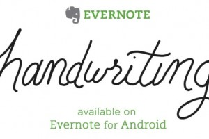 Evernote for Android Updated with Handwriting Recognition