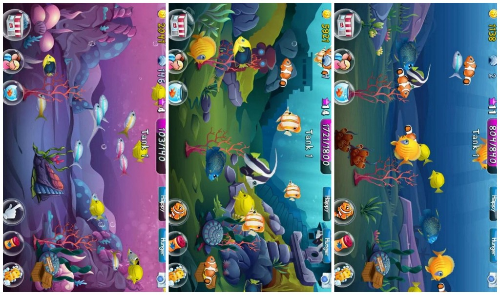 Fish Adventure Collage