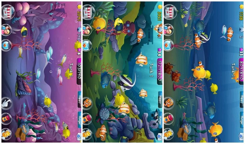Fish Adventure Collage