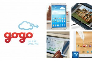 Gogo And Samsung To Offer One Year Free In-flight Internet Access With Purchase of a Tablet