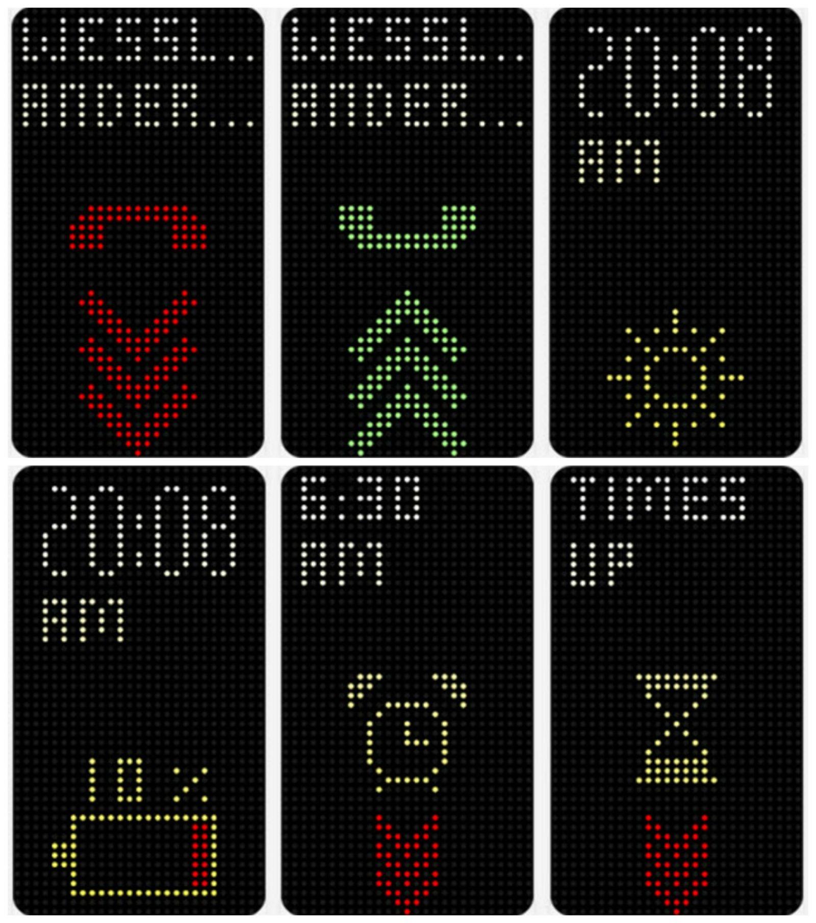 HTC Dot View Collage