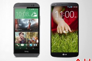 Android Phone Comparisons: LG G2 VS HTC One M8