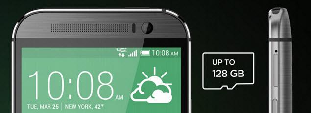 HTC One Storage 128
