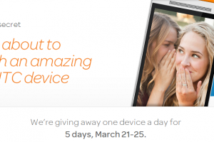 Want To Win an Amazing New HTC Device? Enter AT&T's ShareTheSecret SweepStakes
