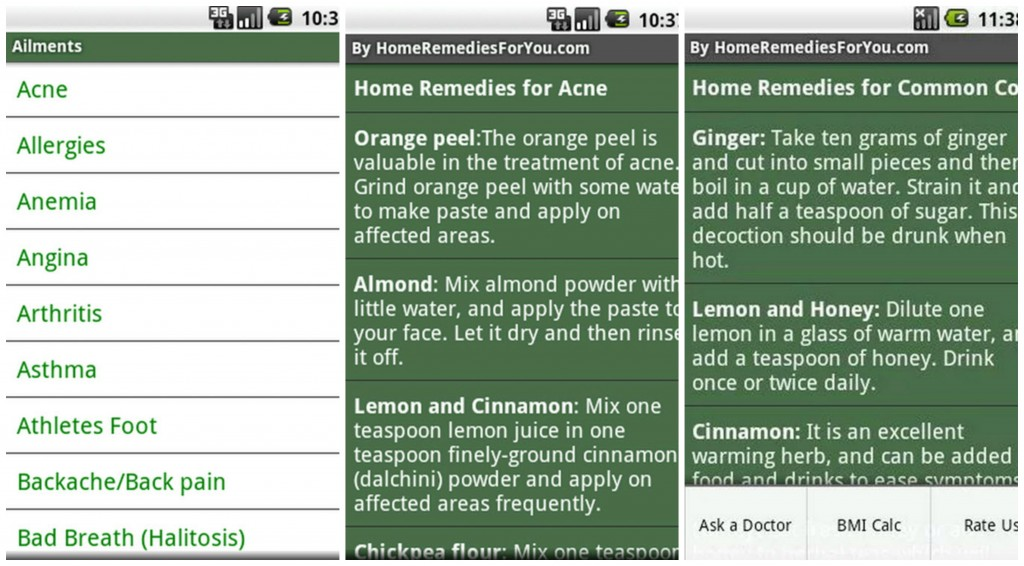 Home Remedies (Lite) Collage