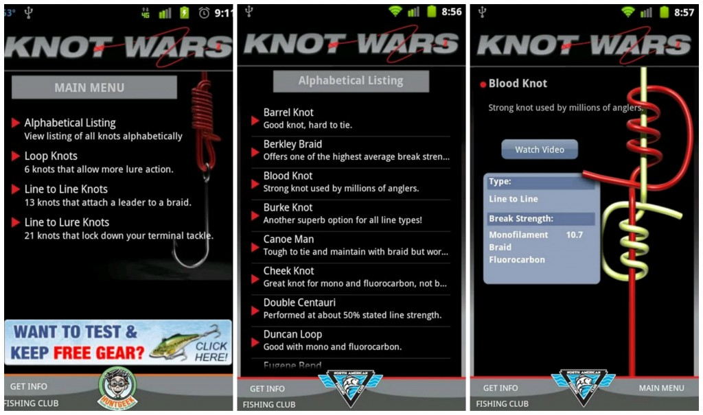 Featured top 10 best android fishing apps for Fishing knots apps