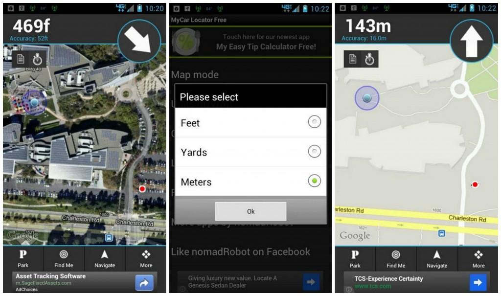 MyCar Locator Free Collage