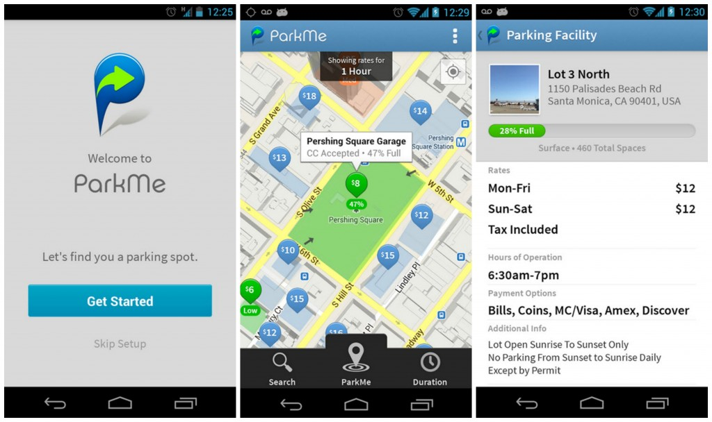 Featured Top 10 Best Android Car Finder Parking Apps