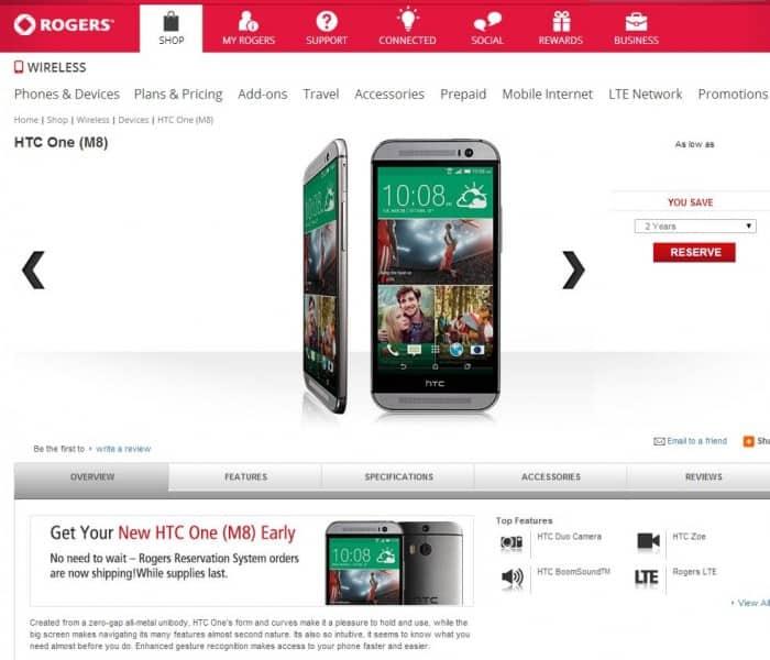 Rogers HTC One Leak 1 e1395705911677