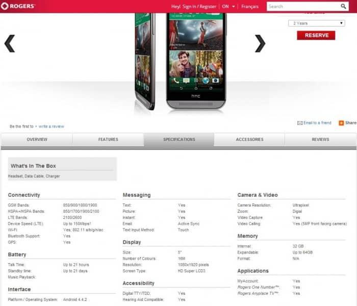 Rogers HTC One Leak 2 e1395705926184