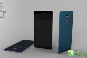 New Samsung Galaxy F Concept Brings Straight Lines From The Past