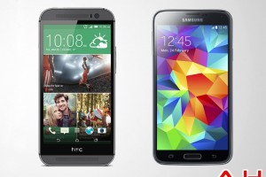 Android Phone Comparisons: Samsung Galaxy S5 VS HTC One M8