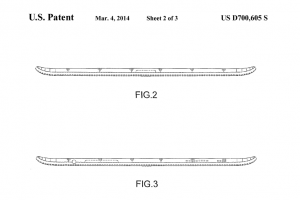 Samsung Files Patent For Tablet With Curved Rear Margins