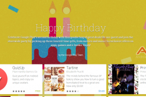 Google Play Turns 2! US Play Store Birthday Sale Page Now Live