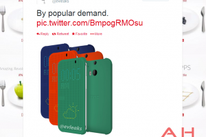 Evleaks Shows Us Three More Colors For The HTC M8 Flip Cover Case