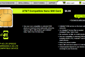 Straight Talk Now Offers Nano SIM Cards For $6.99 For Use With A Compatible Device
