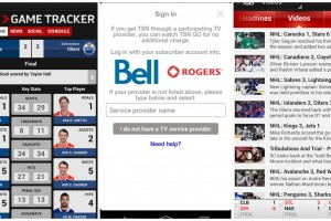 TSN GO Will Stream to Rogers and Bell TV Customers