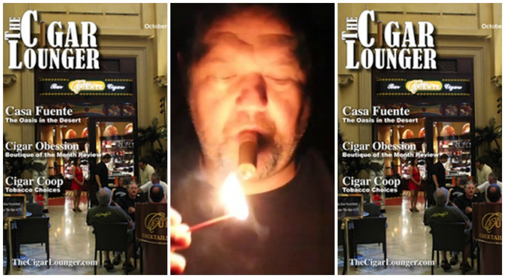 The Cigar Lounger Magazine Collage
