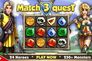 Sponsored Game Review: Match 3 Quest