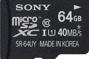 Deal: 65% off Select Sony SD and MicroSD Cards