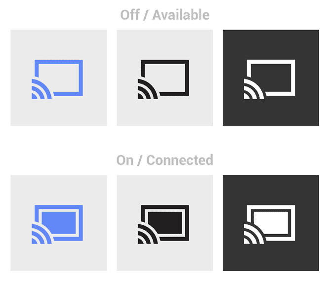 Google Updates Design Guidelines For Chromecast Icons Android News