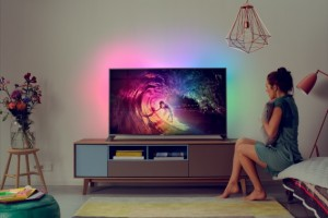 Philips Unveils its First Android-powered 4K TVs Complete With Ambilight Features