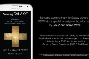 Samsung Hosting Exclusive Concert For Galaxy Owners During SXSW