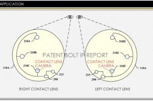 Google Applies For A Smart Contact Lens Patent Containing A Micro Camera