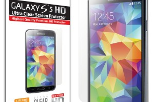 Deal: iSmooth Samsung Galaxy S5 HD Ultra Clear Screen Protector for $1