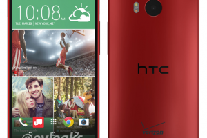 Verizon Exclusive Red HTC One M8 Image Gets Leaked