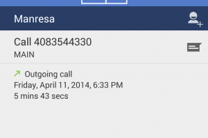 Android Dialer App Redesign On The Way With Blue Color Theme
