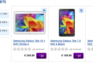 Samsung's Galaxy Tab 4 Range Up For Pre-Order in Europe from €199