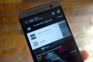 Android How To: Take a Screenshot on the HTC One (M8)