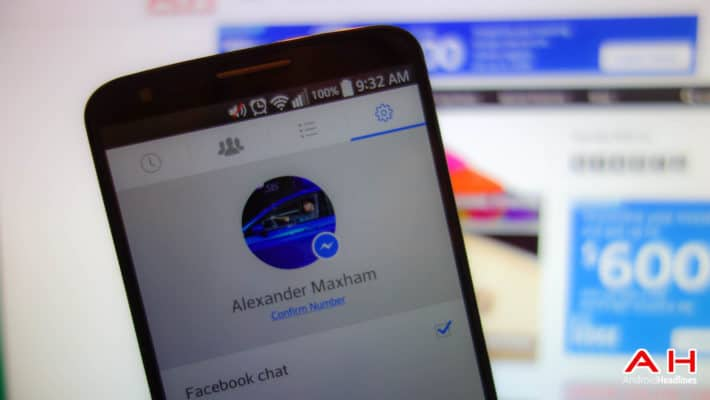Facebook Messenger AH 1