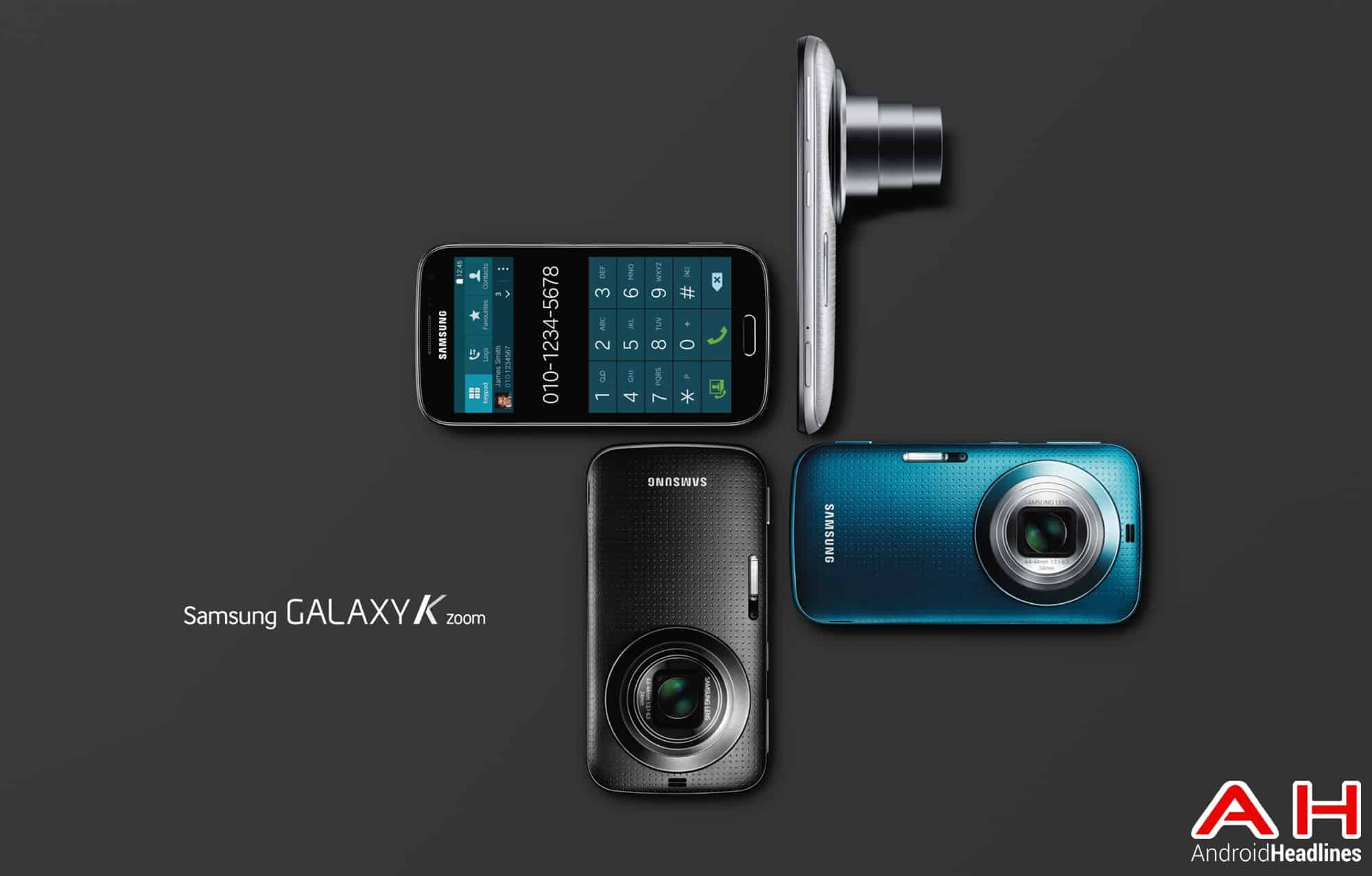Galaxy K zoom 3 colors
