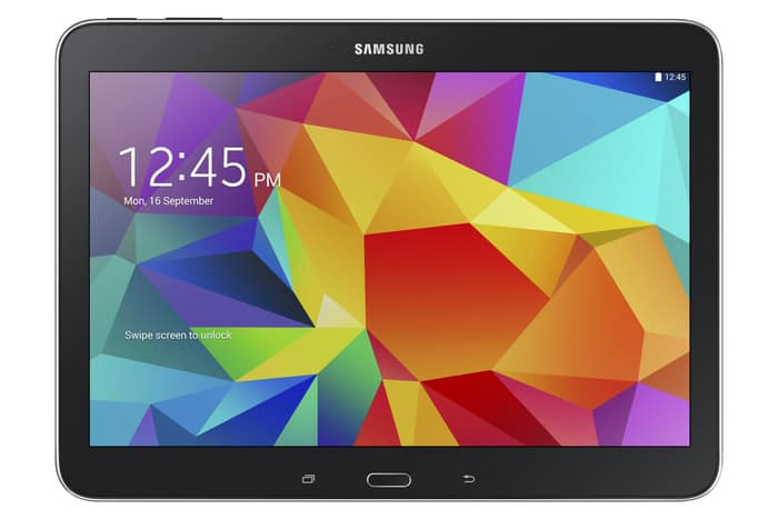 Galaxy Tab4 10.1 SM T530 Black 1
