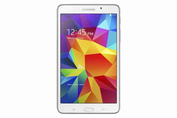 Galaxy Tab4 7.0 SM T230 White 1