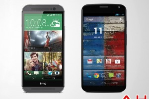 Android Phone Comparisons: Motorola Moto X vs HTC One M8