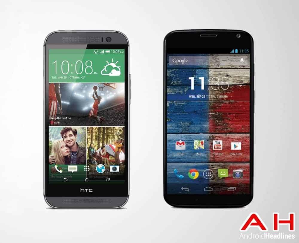 HTC One M8 Vs Moto X