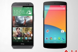 Android Phone Comparisons: LG Google Nexus 5 VS HTC One M8