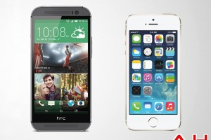 Android Phone Comparisons: HTC One M8 vs Apple iPhone 5s