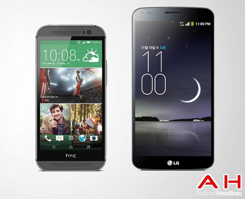 HTC One Vs LG Glex
