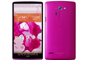 LG Isai FL for Japan Leaks in Pink with Specs in Tow