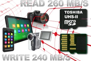 Toshiba Gives us the World's Fastest MicroSD Memory Cards