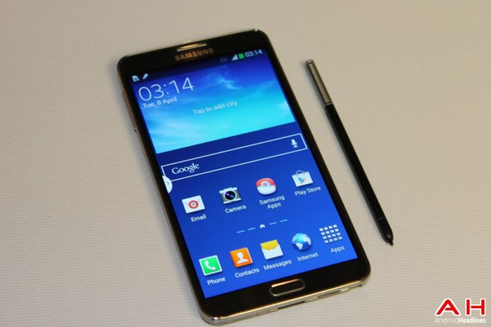 Bell: Samsung Galaxy Note 3 Receiving 5.0 Lollipop