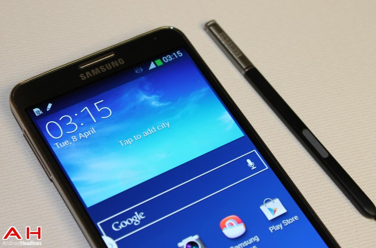 Samsung Galaxy Note 3 4.4