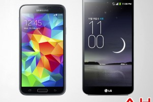 Android Phone Comparisons: Samsung Galaxy S5 vs LG G Flex