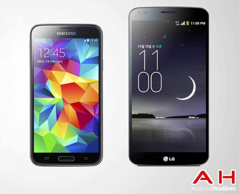 Samsung Galaxy S5 One Vs LG Glex