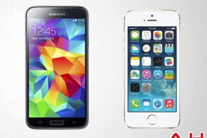 Android Phone Comparisons: Samsung Galaxy S5 vs Apple iPhone 5S