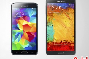 Android Phone Comparisons: Samsung Galaxy S5 vs Samsung Galaxy Note 3